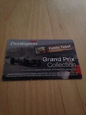 Donington Grand Prix Family Ticket