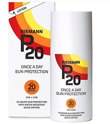 Riemann P20 SPF 20 Once A Day Sun Protection Lotion 100ml