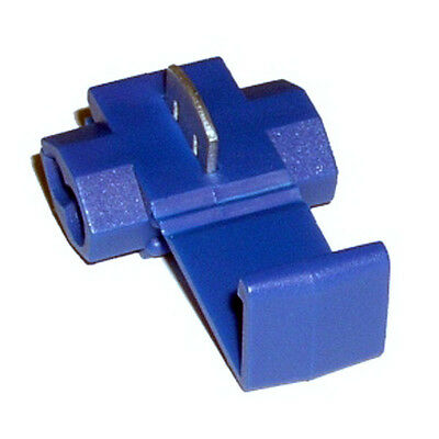 25 uds. Conectores Rapidos Roba Corriente Scotch Lock 1 a 2,5mm. Azul