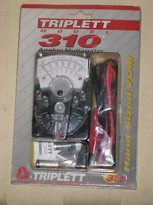 Triplett Model 310 Hand Size Vom New In Package Cat # 3018