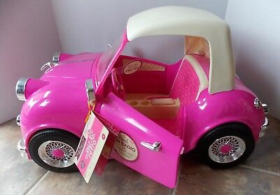 """NEW Our Generation Retro Cruiser Convertable for 18"""" Dolls ~ Radio Lights Sound"""