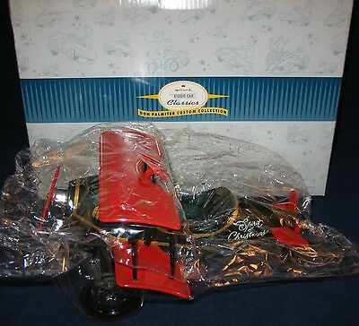 HALLMARK Kiddie Car Classics 1998 Custom Biplane 1930 SPIRIT of CHRISTMAS