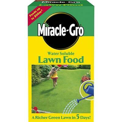 Miracle-Gro Water Soluble Lawn Food 1kg - Feeds up to 200m2
