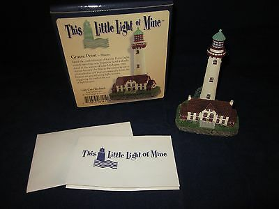 HARBOUR LIGHTS This Little Light of Mine Grosse Point IL Lighthouse ~ NEW in BOX