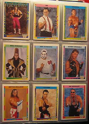 WWE WWF Merlin Trading Cards Set 1995 deutsch 180 /180 Cards
