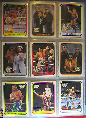 WWE WWF Merlin Trading Cards Set 1991 deutsch 150 /150 Cards