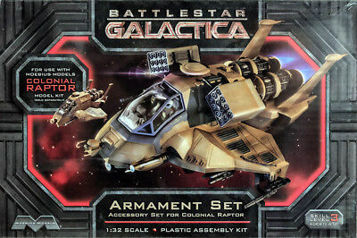 Armament Set für Battlestar Galactica Colonial Raptor 1:32 Model Kit Moebius 968