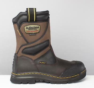 Dr Martens TURBINE Mens S3 WP HRO SRC Waterproof Metal-Free Rigger Boots Gaucho