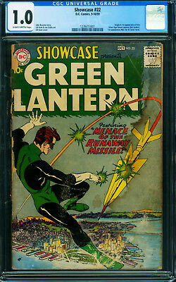 Showcase #22 CGC 1.0-First appearance of Green Lantern 1959 DC 1239313001