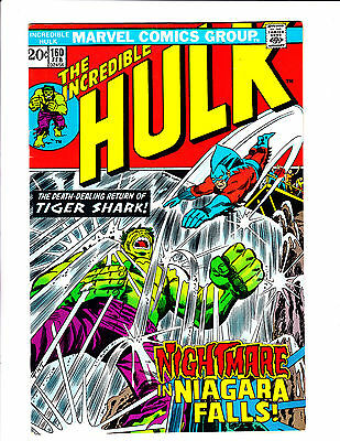 "Incredible Hulk  No.160    : 1973 :    : ""Nightmare In Niagara Falls!"" :"