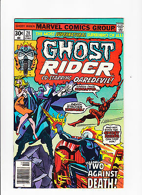 Ghost Rider  No.20    :: 1976 ::    :: John Byrne Art! ::