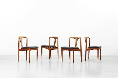Dining Chairs by Johannes Andersen for Uldum Møbelfabrik, danish design