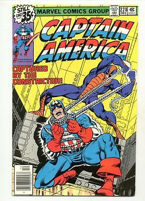 Captain America #228    Constrictor Cover and Appearance