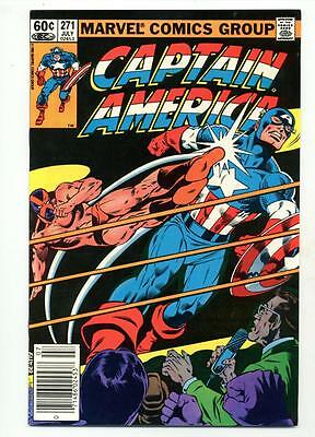 Captain America #271    Mister X     Wrestling Cover