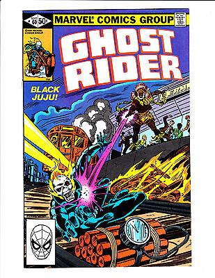 Ghost Rider   No.60     : 1981 :     : Dynamite On Tracks Cover! :