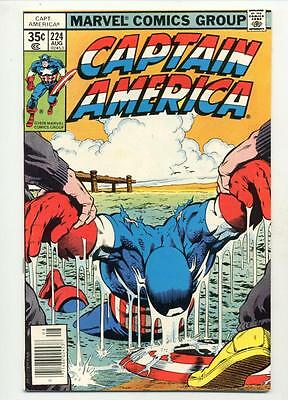 Captain America #224    Avengers and Tarantula Appearance