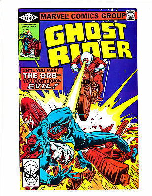 Ghost Rider   No.54     : 1981 :     : The Orb On Cover! :