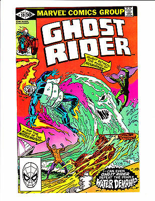 Ghost Rider   No.59     : 1981 :     : Water Demon Cover! :
