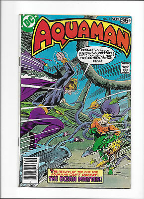 "Aquaman #63  [1978 Gd-Vg]  ""the Ocean Master!""  Last Issue!"