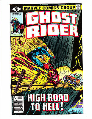 """Ghost Rider   No.37     : 1979 :     : """"High Road To Hell!"""" :"""