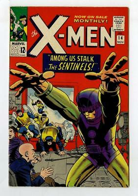 Marvel Comics VFN-  X MEN  # 14  SENTINEL 1st APPEARANCE 1965