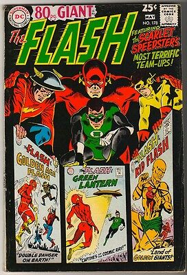 DC Comics FN FLASH  #178  80 PAGE GIANT JLA  batman VERY GLOSSY COVER