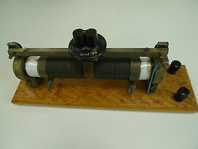 Rheostat 45 Ohms 1.5 Amps Mounted Vintage Lab Apparatus 4MM Plug ZA6389 TPL