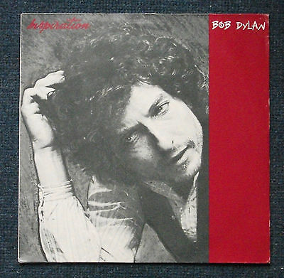 Rare Bob Dylan 'Inspiration' vinyl LP 1986 (Limited Edition-Green marble effect)