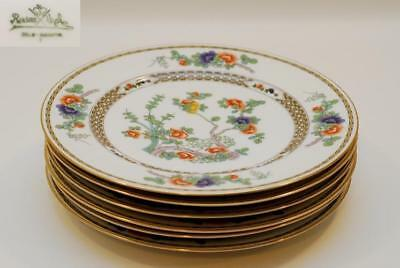 6 Rosenthal INDIAN TREE Dinner Plate Plates 10.75 Inch