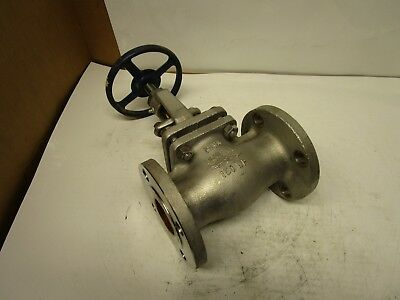 "Powell 2"" 316 Stainless S/s Flanged Gate Valve 150 Wp Cf8M Fig 2475"