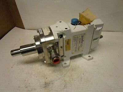 Itt Pureflo Lobe 24000-4801 Food Dairy Pharmaceutical Grade Rotary Lobe Pump 1""