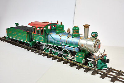 Bachmann G Scale Atchison Topeka & Santa Fe 4-6-0 Steam Loco Lgb Headlight