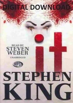 It by Stephen King (AUDIO BOOK) Fast Electronic Delivery