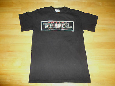 2004 TOOL - PILL BRAIN Black Concert Band Tour Shirt - Adult Size Small S