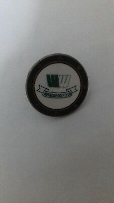 Wernddu Golf Club Ball Marker