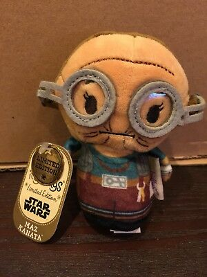Hallmark  Star Wars MAZ KANATA-Ltd ed.-Itty Bitty-New in Hand! Free Shipping !!