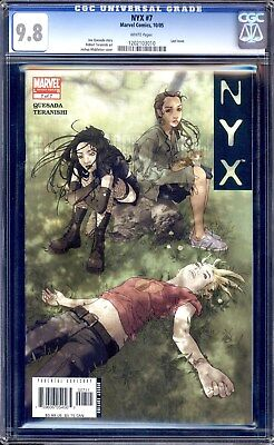Nyx #7 Cgc 9.8 White Pages