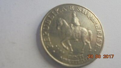 Albania 50 coin as photo