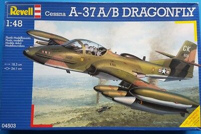 Revell 1:48 Cessn A-37 A/B Dragonfly Kit No. 04503