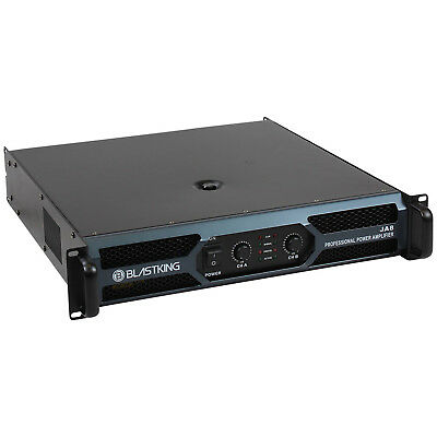 2 Channel 2600 Watts at 4 ohm Professional Power Amplifier AMP DJ Stereo