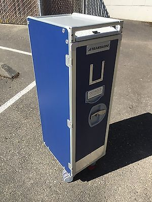 """Airline Galley Equipment """"Brand New"""" Standard Half Size Meal Cart"""