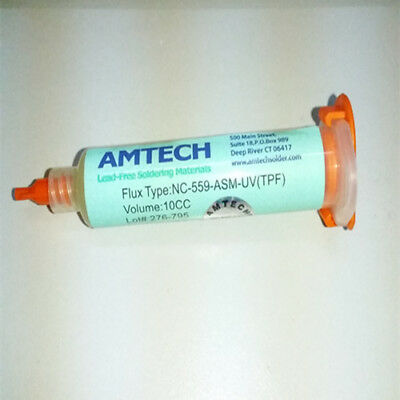 NC-559-ASM-UV(TPF) Flux Anti-wet No-clean 10CC AMTECH BGA Rework Reballing Flux