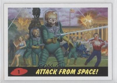2013 Topps Mars Attacks! Invasion Heritage #1 Attack From Space! Card 1j8