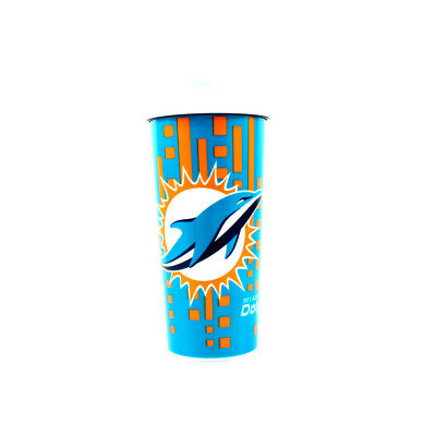 Miami Dolphins Insulated 16oz Travel Mug