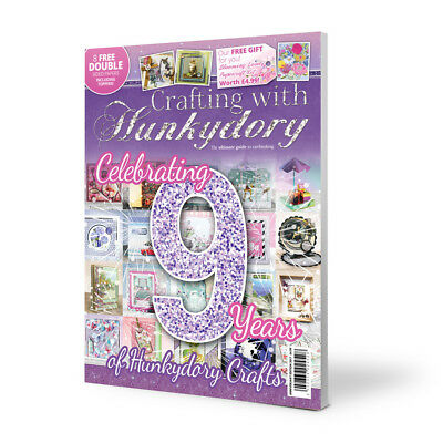 Crafting With Hunkydory  ~ Project Magazine ~ Special 9th Anniversary Edition