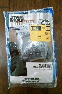 Star Wars One Microfiber Comforter FULL Size Bed Spread Blanket