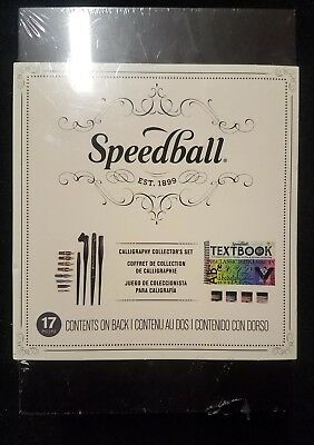 Speedball Art Products Calligraphy Collector's Set 17 Piece