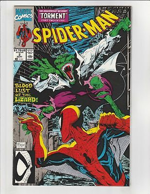 Spider-man (1990) #2 VF/NM Marvel Todd McFarlane Torment Part 2 of 5 Lizard APP!