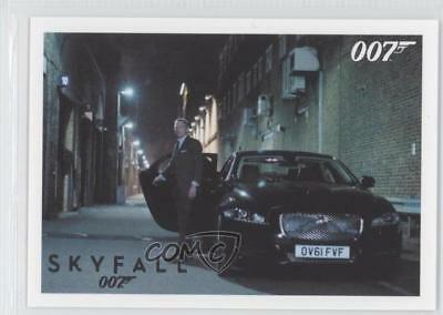 2013 Rittenhouse James Bond: Artifacts & Relics #084 After Silva makes Card 2o7