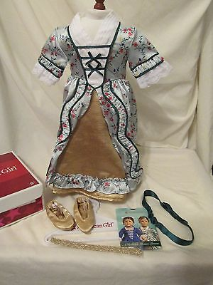American Girl ELIZABETH HOLIDAY GOWN OUTFIT New in Box Retired